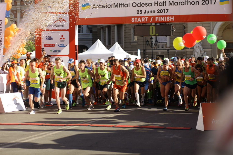 ArcelorMittal Odesa Half Marathon